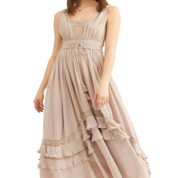 f32c7fd11a7 Free People Dresses   Skirts - Free People Endless Summer Santa Maria Maxi  Dress